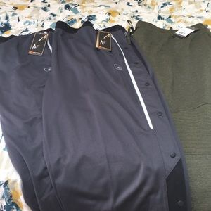 Other - NWT: 2 And1 tearaways & 1 Russell motofit sweats